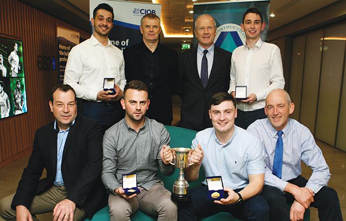 GMIT team wins CIOB's Student Challenge Ireland