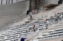 Fifa warns on delayed Brazil World Cup stadium