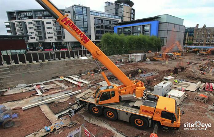 Video: Bowmer & Kirkland makes strides at Select's Edinburgh scheme
