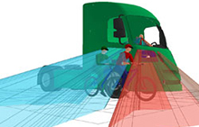 EU study: longer, lower HGV cabs can save lives