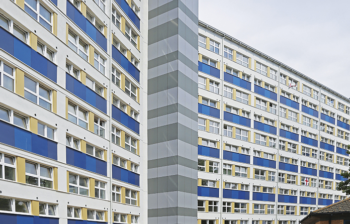 Refurbishing a council block to Passivhaus standards
