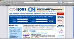 CIOB jobs site now live
