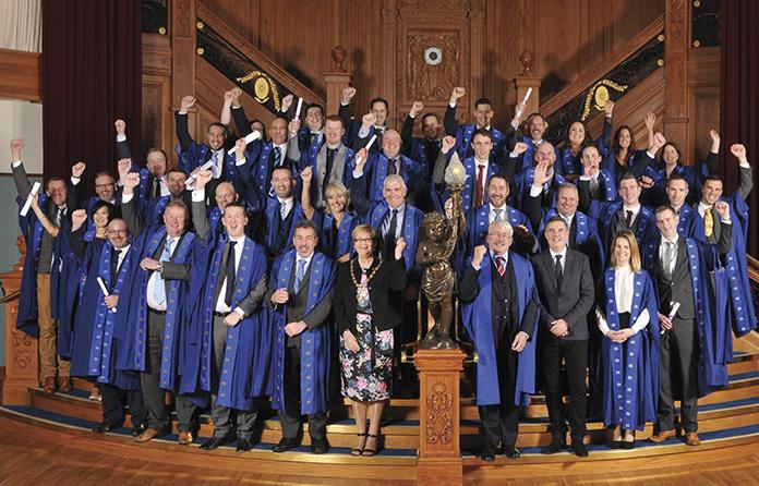 Titanic Belfast hosts CIOB conferring ceremony