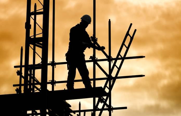 Construction activity drop slows as sites restart