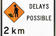 Can we make sense of concurrent delays?