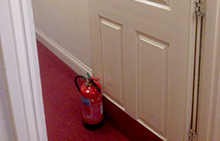 Survey reveals scale of fire door abuse