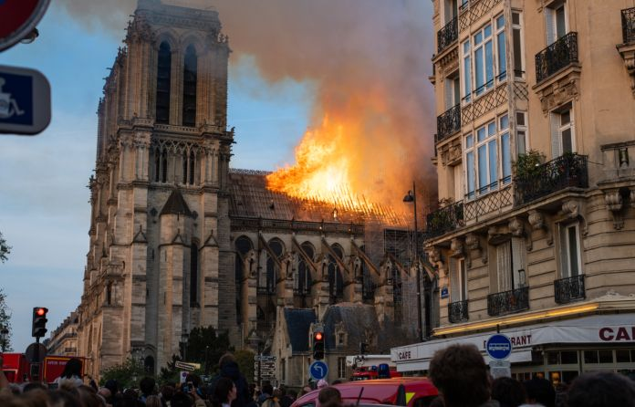 Bouygues and Vinci join Notre Dame effort