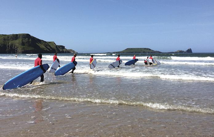Annual Novus Challenge hits the beach
