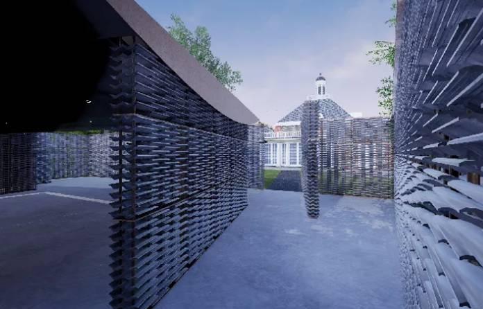 Video   Serpentine Pavilion 2018 construction timelapse