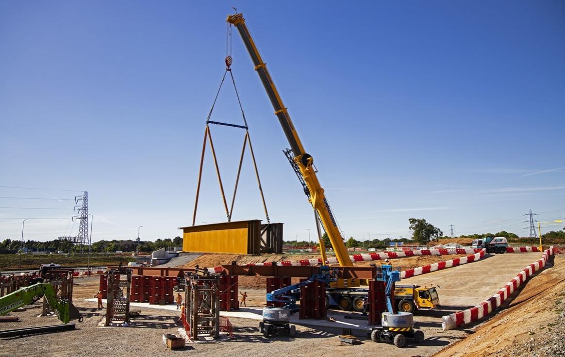 Cleveland Bridge produces 24 massive modular HS2 bridge girders