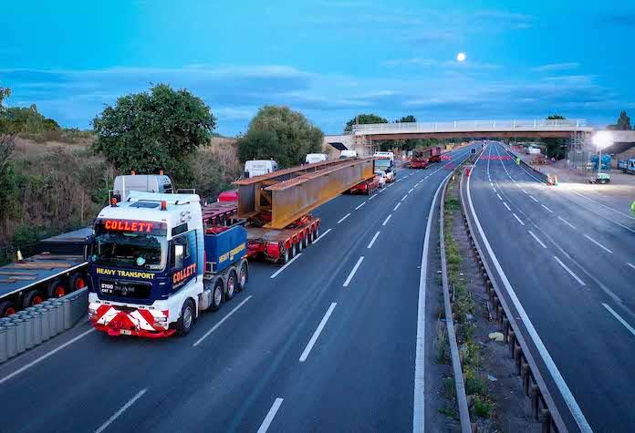 Images | Work begins on 11 bridges on M4 smart motorway upgrade
