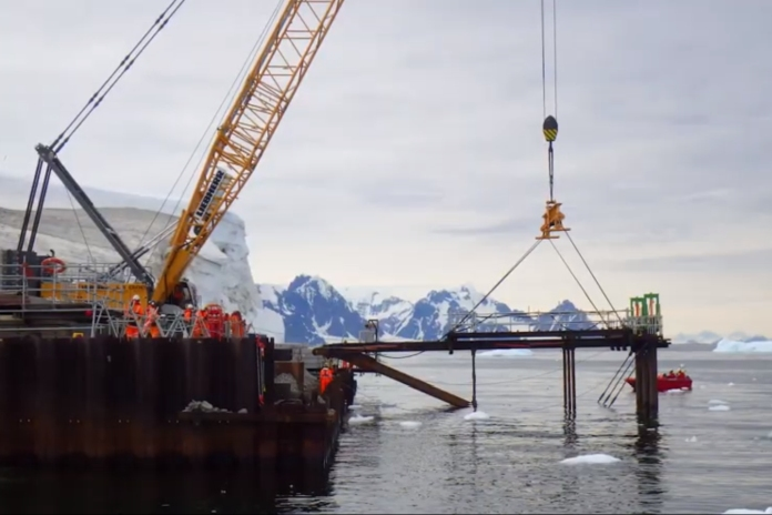 Videos | BAM builds £51m British Antarctic Survey wharfs