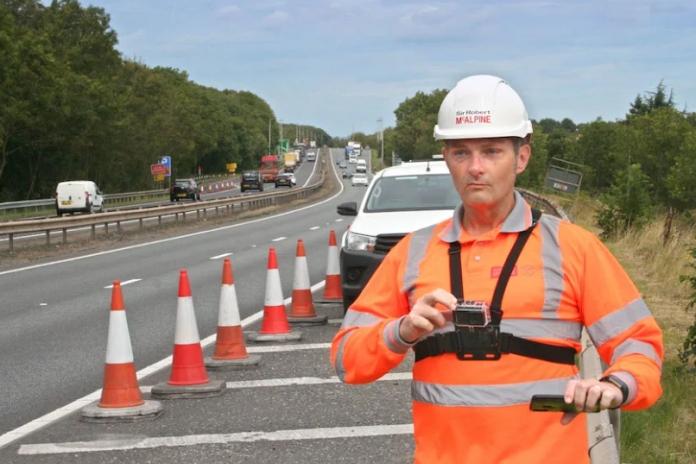 McAlpine maps highways assets with innovative survey tech