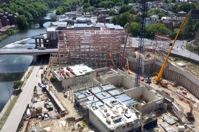 Video | Structures take shape on Tolent's £84.5m Milburngate job
