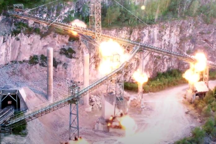 Photos | 'Military grade' explosives demolish quarry structures