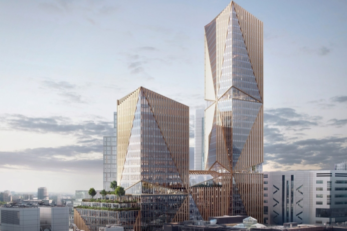 British Land plans 37-storey net zero City tower